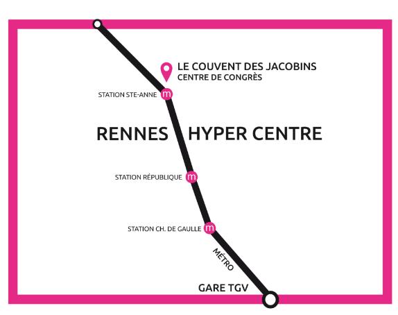 Dessin Plan de l'Hyper Centre